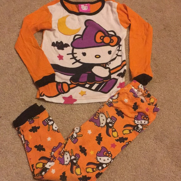 hello kitty halloween pjs